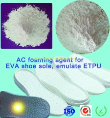 Special White AC foaming agent for EVA Injection Shoe middlesole